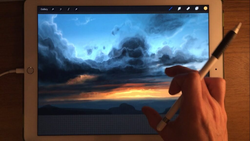 Procreate Art Drawing iPad App