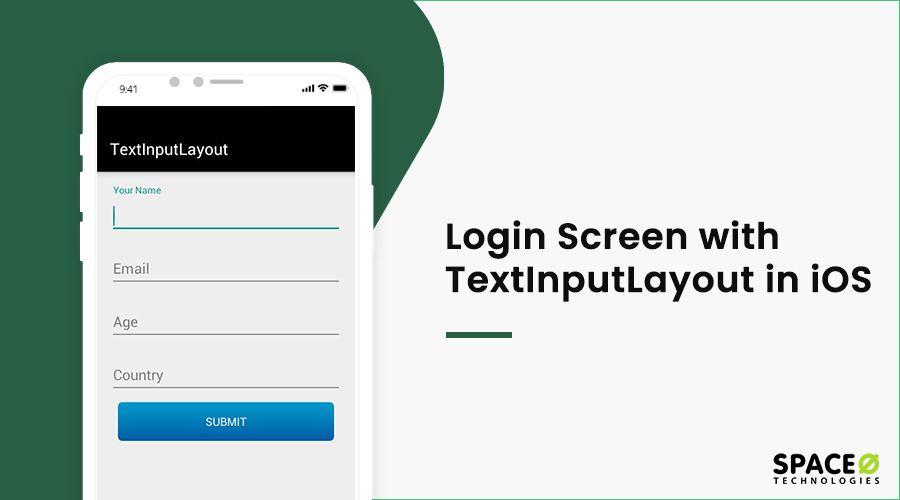 login screen in ios