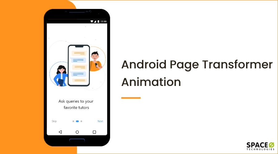 Android Page Transformer Animation