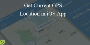 Get Current Location in iOS App Tutorial