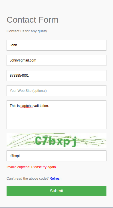 Invalid_captcha
