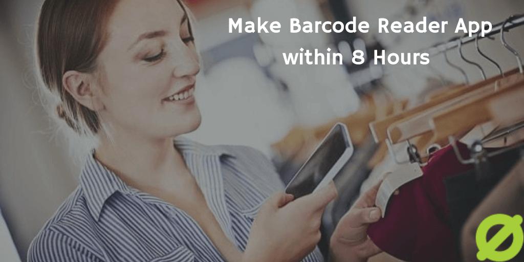Make Barcode Reader App