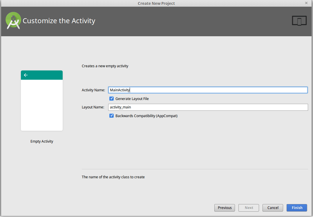 Customize Activity in the App