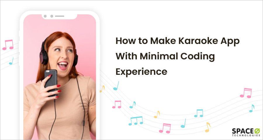 How to make karaoke app