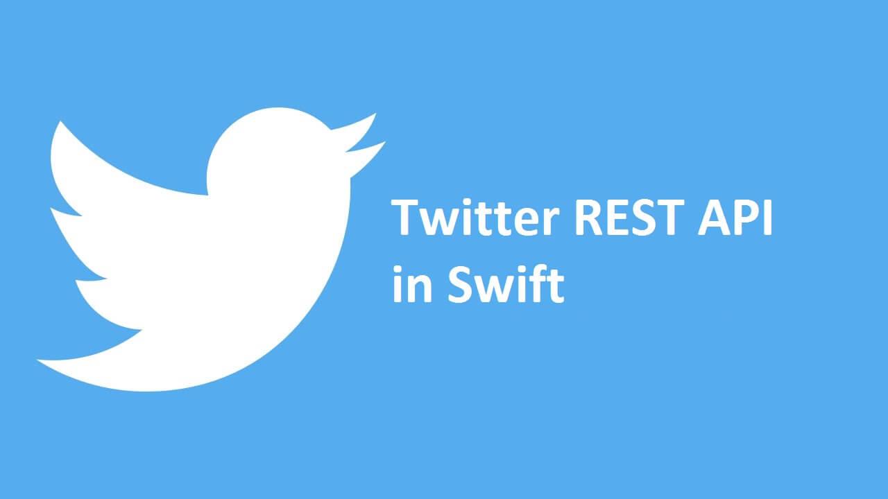 twitter-rest-api in swift