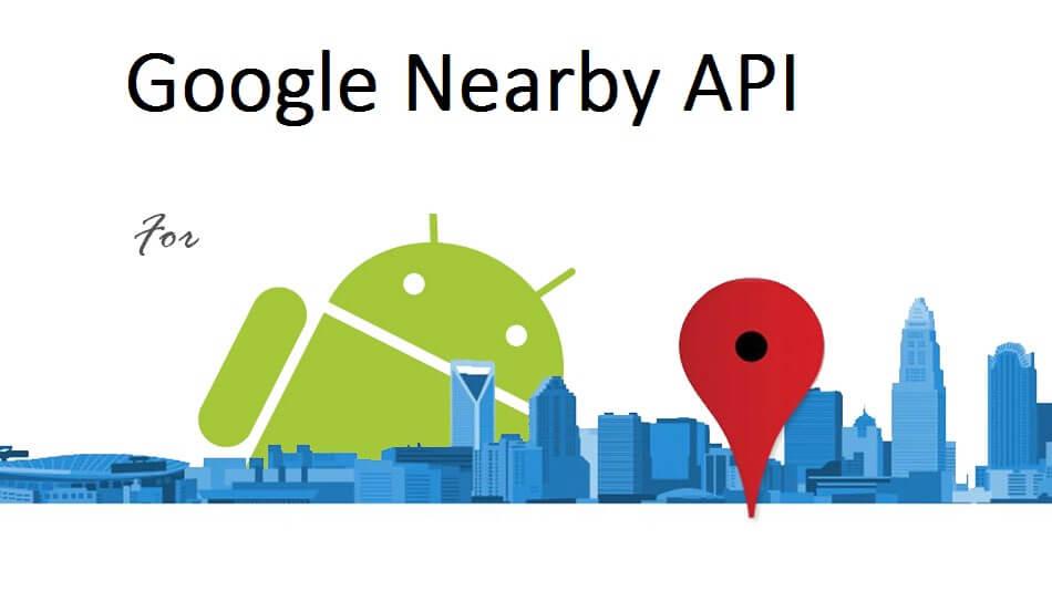 google nearby api