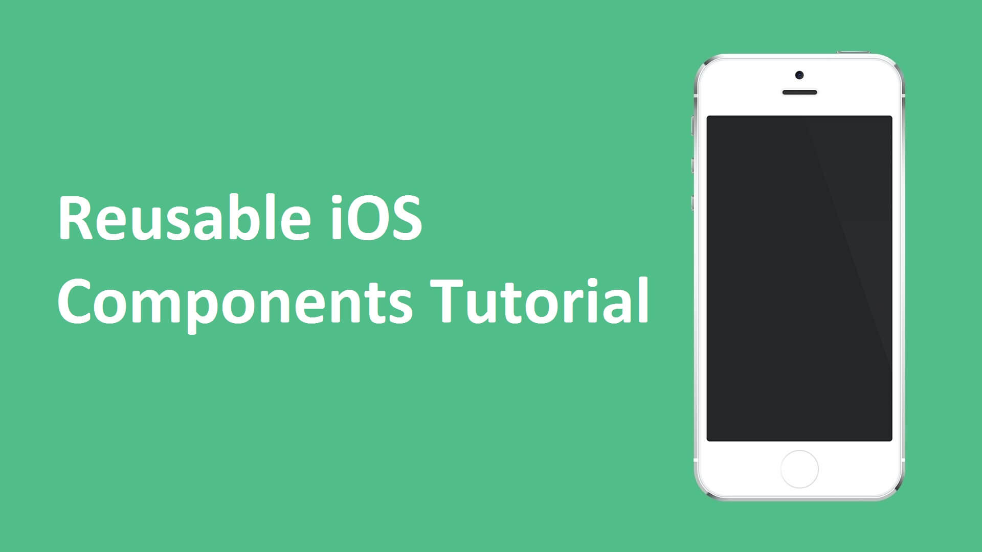 Create Reusable Components in ios