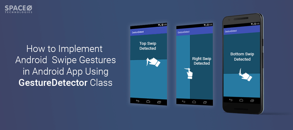 swipe gestures in android