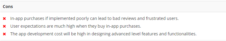 In App Purchases Crons