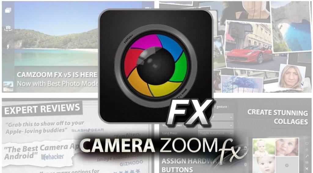 camera zoom fx app