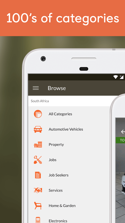 classified app features