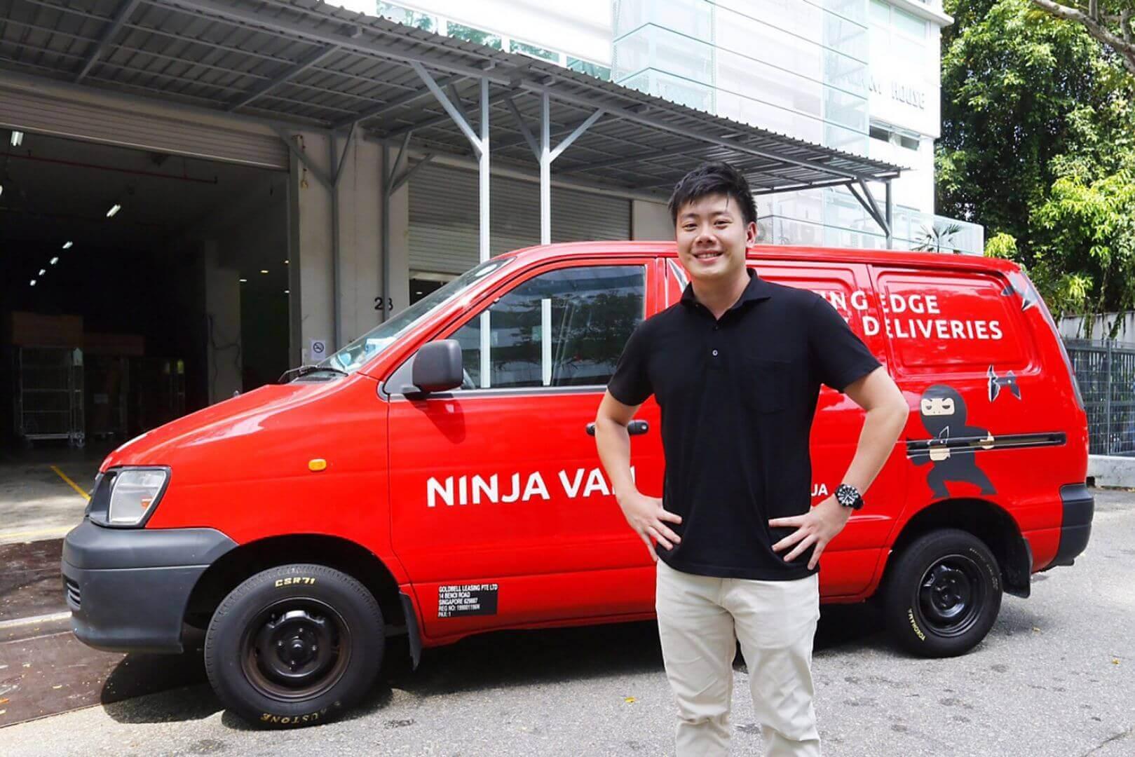 on-denand delivery startup