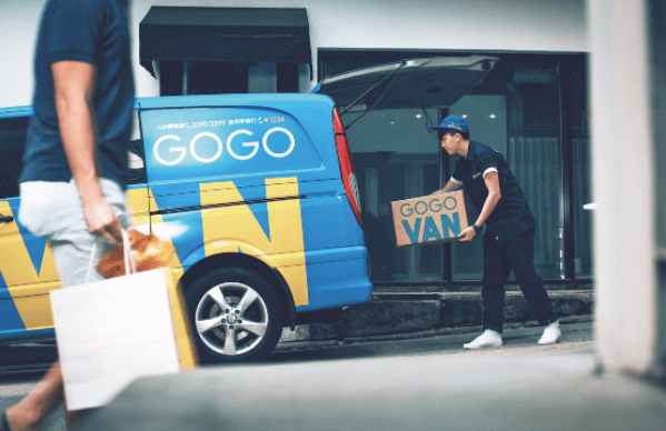 Delivery booking app gogovan