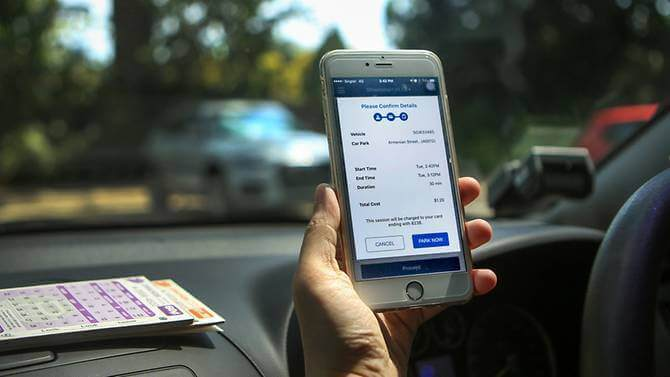 Vehicle parking apps