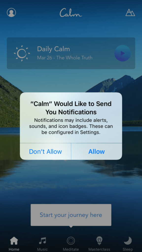 push-notification-meditation-app