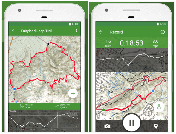 Hiking-Apps-Development-AllTrails-App