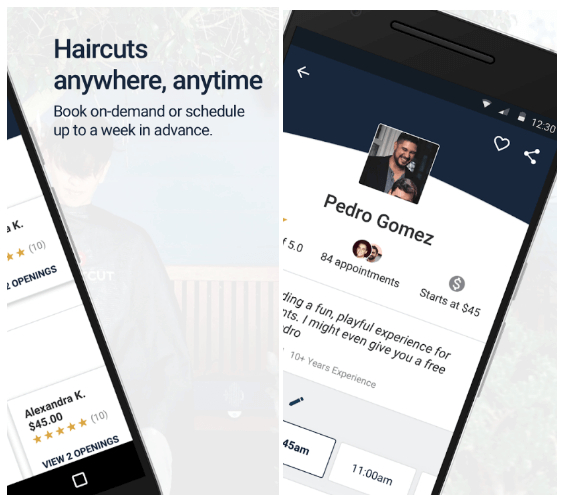 Uber-for-Haircuts