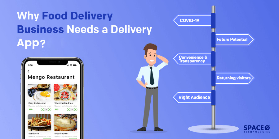 Why Food Delivery Business Needs a Delivery App