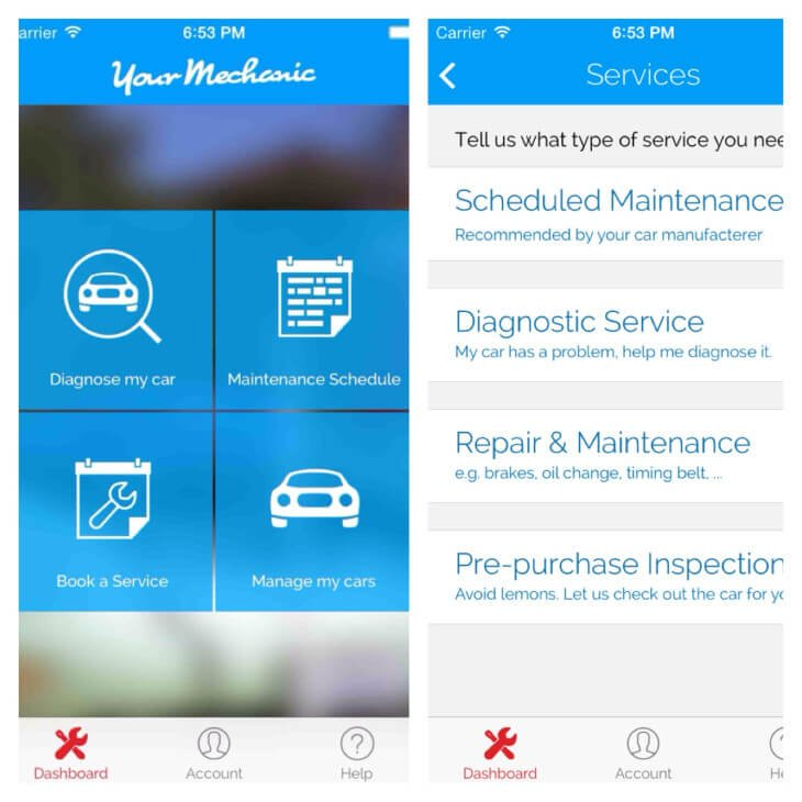 Yourmechanic-app