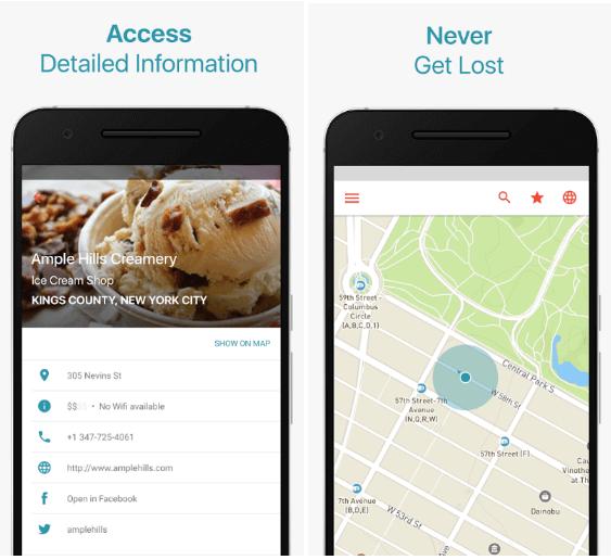 Travel App for GPS Navigation