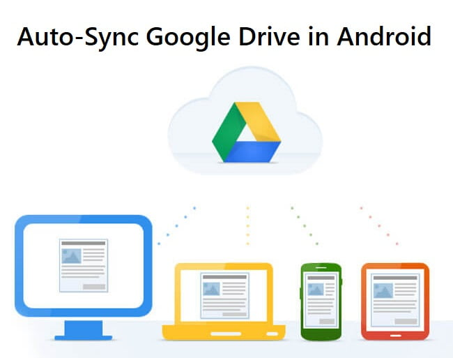 auto sync google drive example