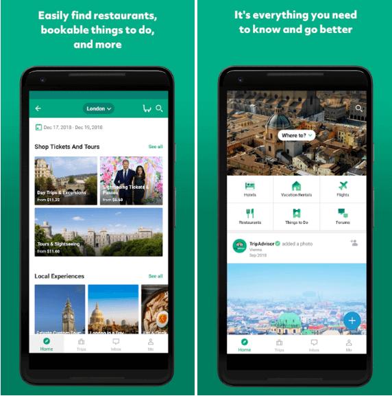 Tourism App Development