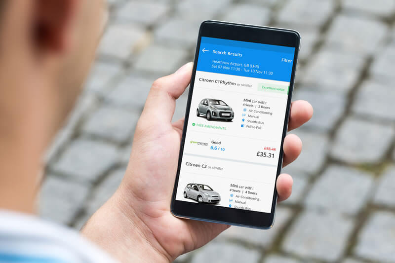 Car Rental App Solution