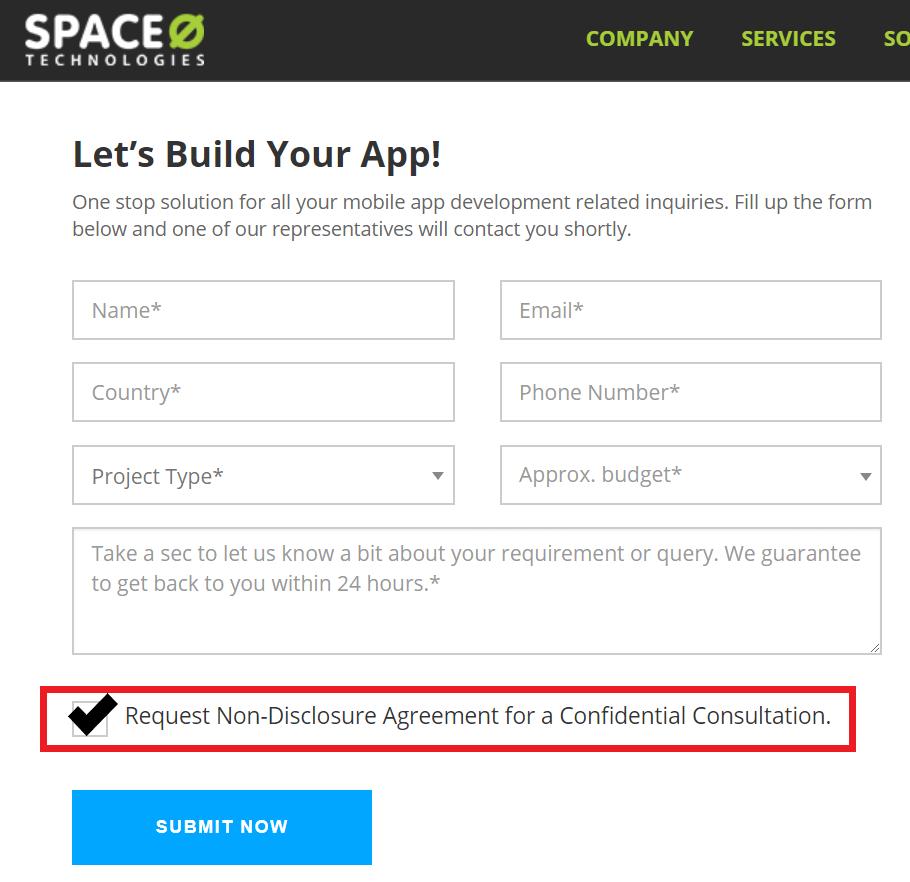 Contact Mobile App Development Company