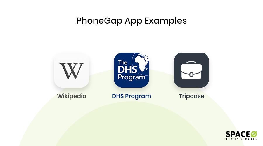 PhoneGap app example