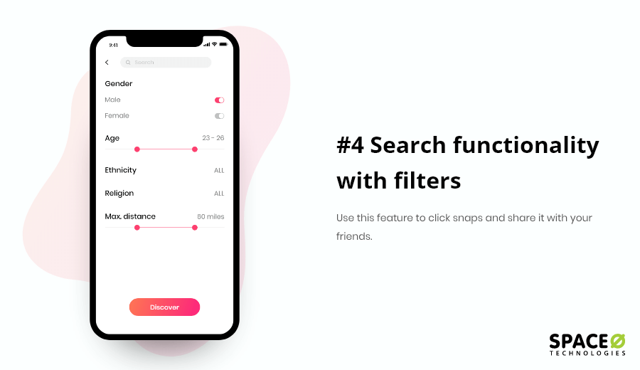 Search Functionality With Filters