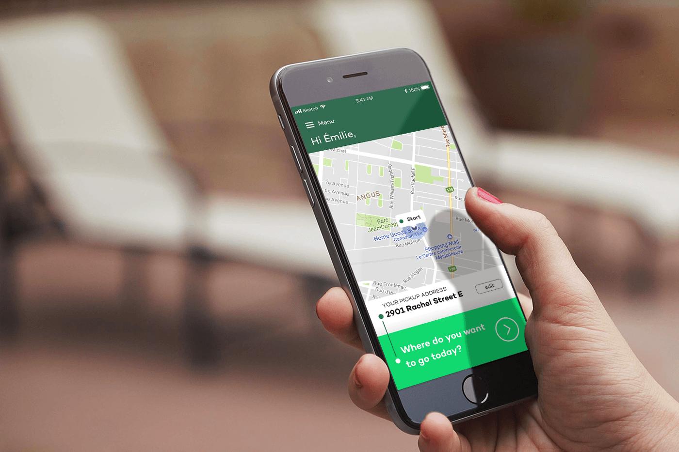 uber like taxi app