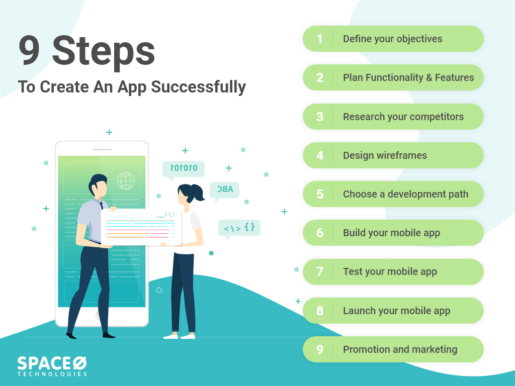 how to create an app