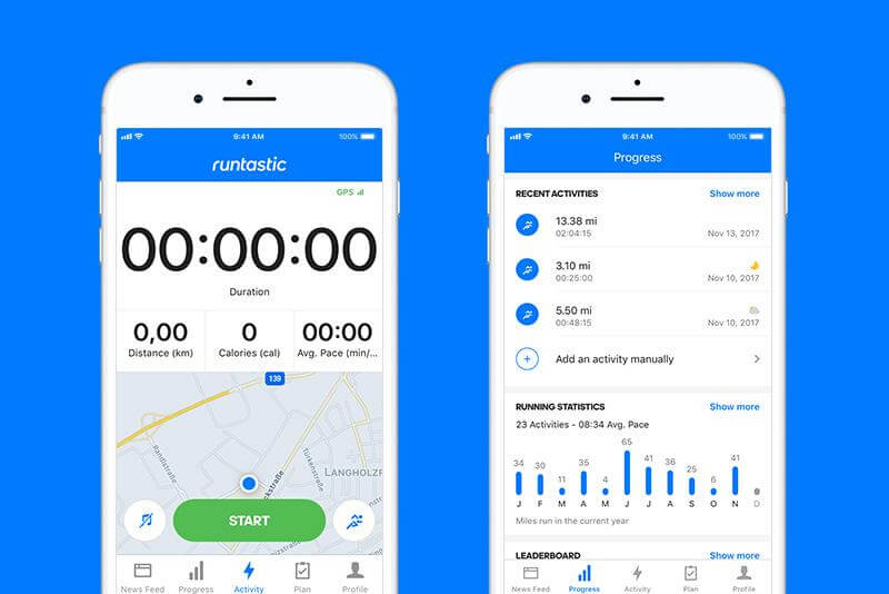 health and fitness mobile app