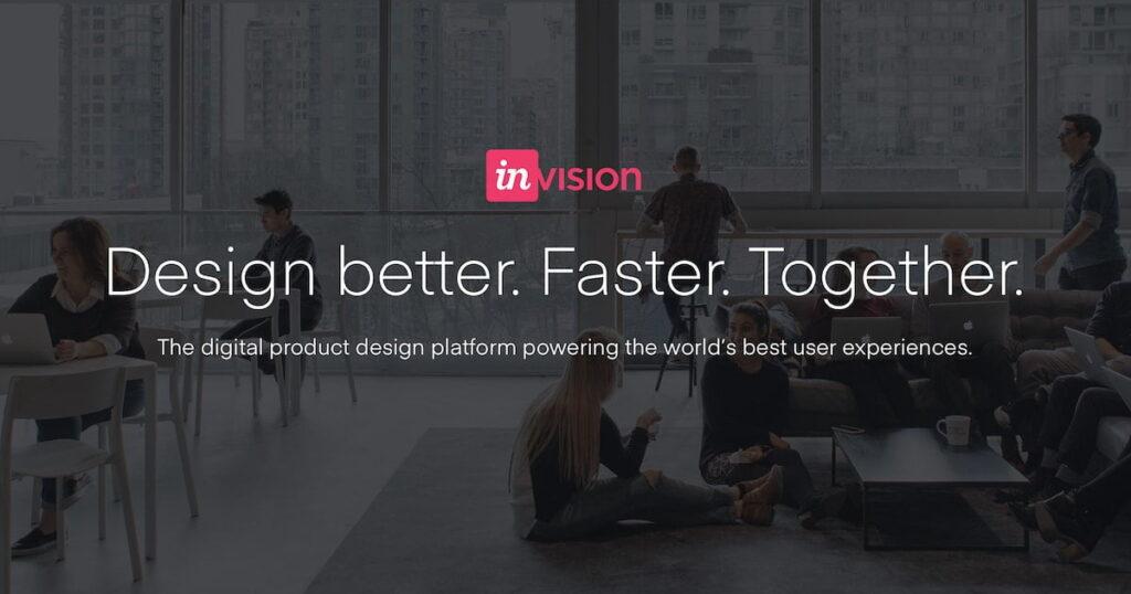 invision mobile app design tool
