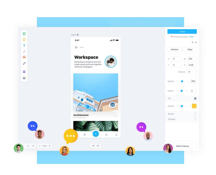 marvel mobile app design tool