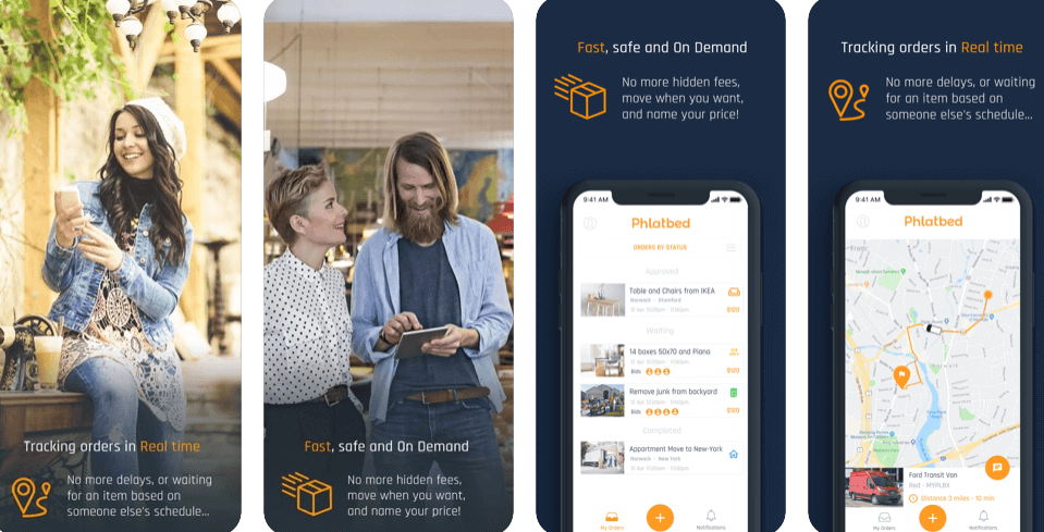 movers and packers app development