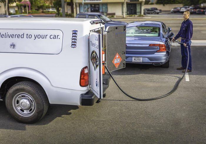 fuel delivery app development