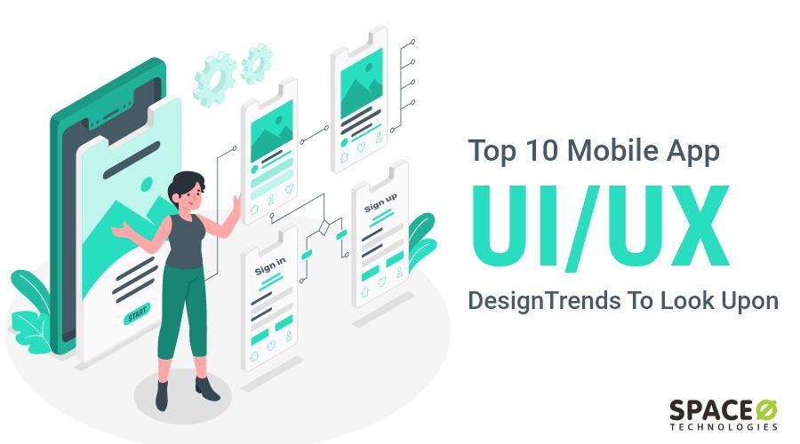 mobile app ui ux design trends