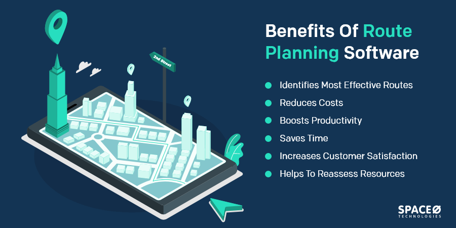 benefits of route optimization for delivery service business