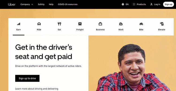 uber-app-landing-page