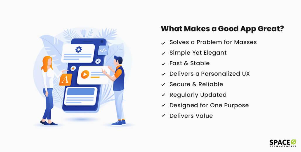 what makes a good app