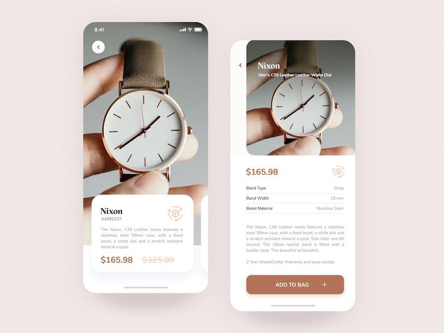 AR watch concept