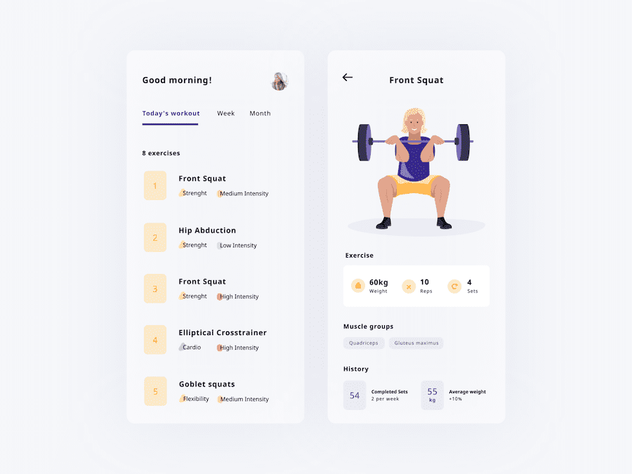 workout tracker app