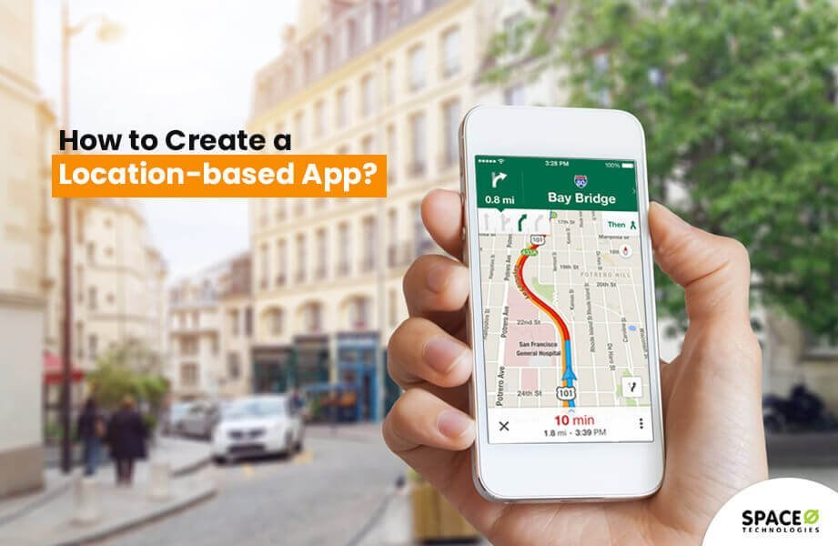 how to create a location based app