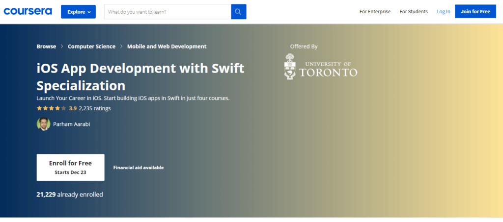 Coursera iOS App Development with Swift Specialization