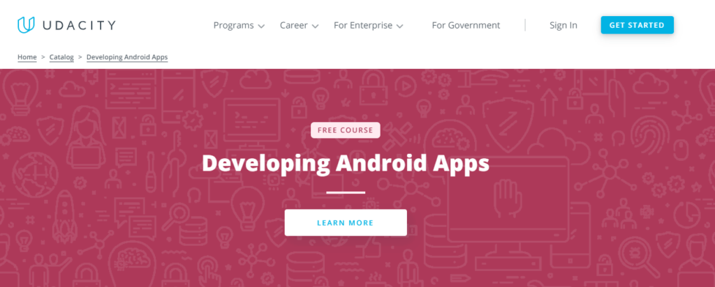 udacity developing android apps