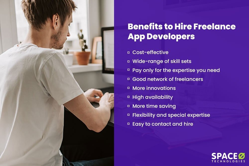 Benefits of hiring freelance app developers