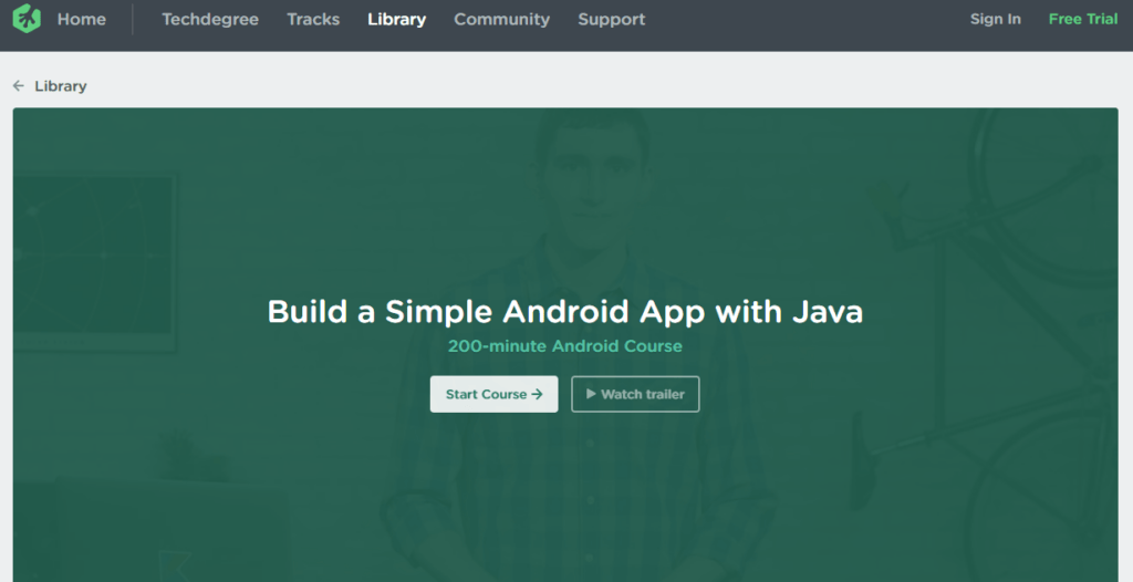 Team Treehouse Build Your First Android App
