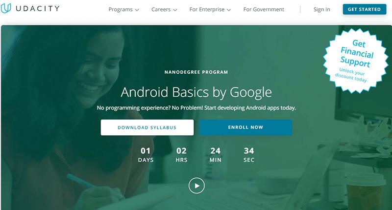 Udacity – Android Basics by Google Nanodegree Program