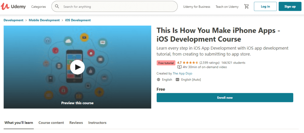 Udemy - This Is How You Make iPhone Apps